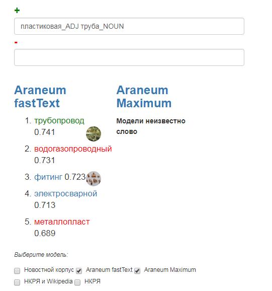 Семантический калькулятор в действии