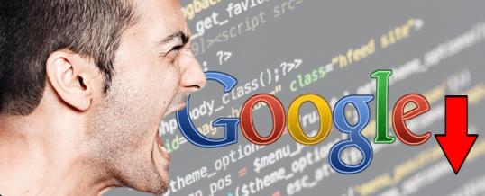 Почему падает трафик в Google? Как с этим бороться.