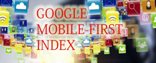 Как подготовиться к Mobile-first индексу