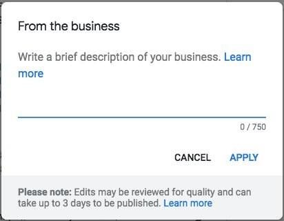 Настройка Google Мой Бизнес
